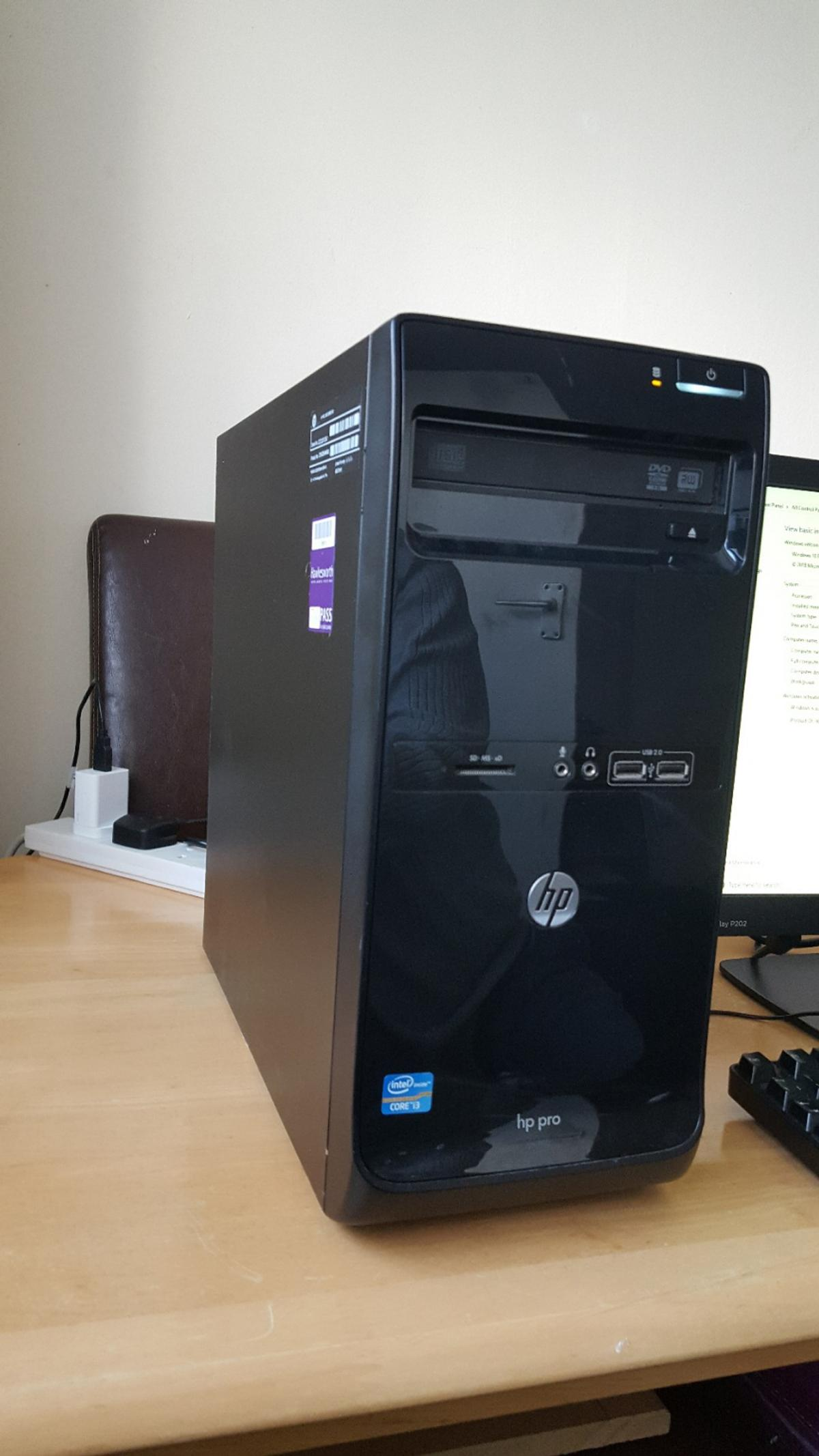 HP PRO 3500 Micro Tower in ST6 Tunstall for £90 00 for sale