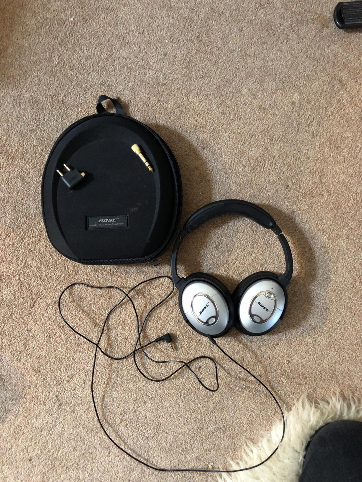 31fdd99e0cc BOSE qc15 wired noise cancelling headphones in BD23 Craven for ...