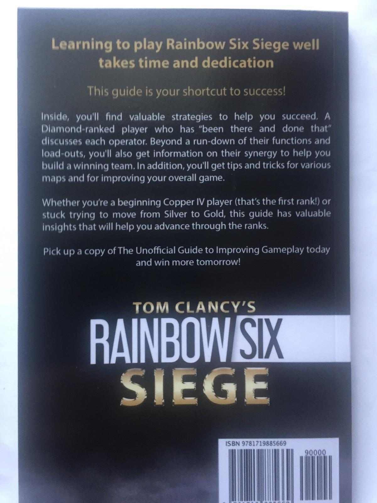 Rainbow 6 Siege unofficial gameplay guide