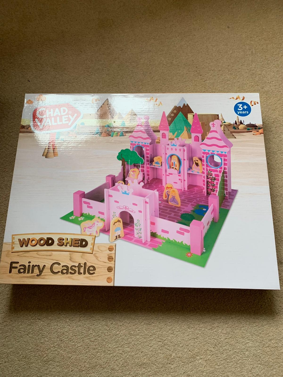 Wooden Fairy Castle