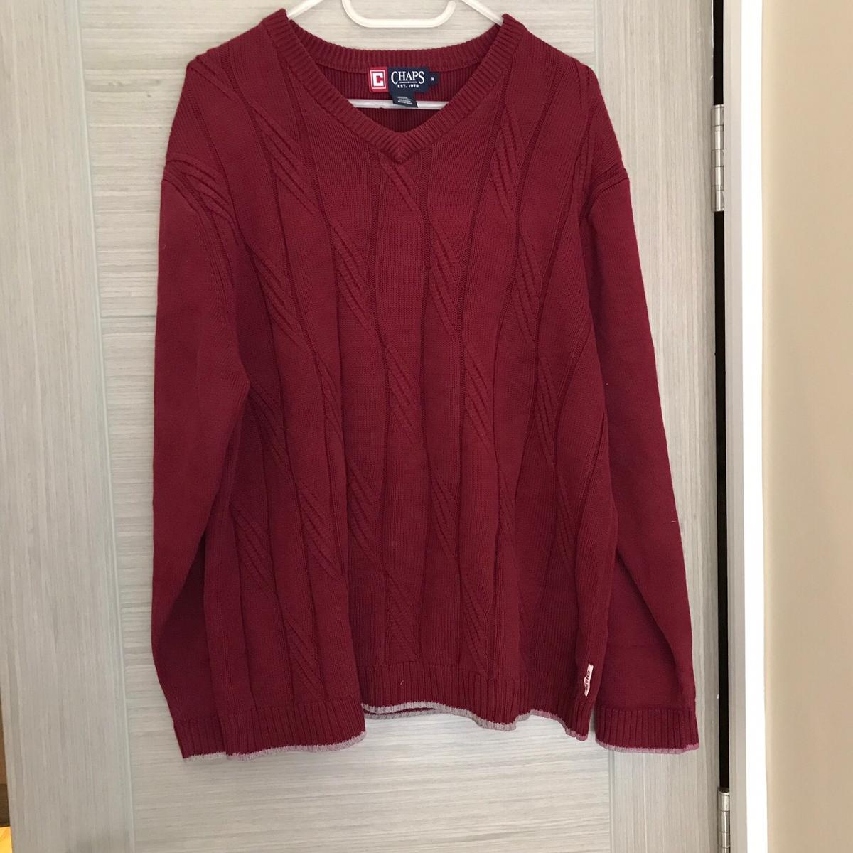 903b55fd4ab11b Vintage Chaps Ralph Lauren Red Jumper M in W6 London for £19.99 for ...