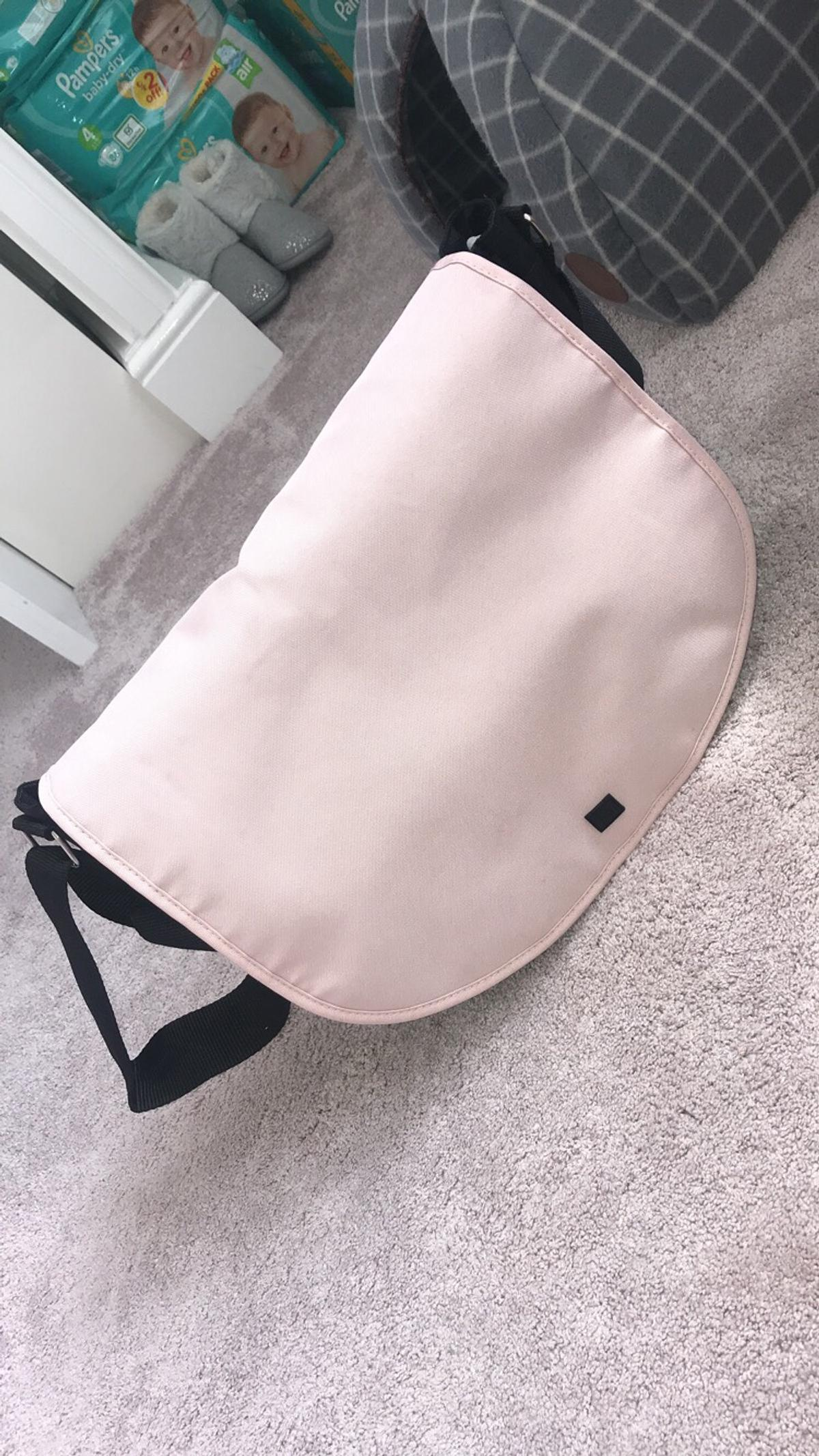 mothercare journey blush pink changing bag