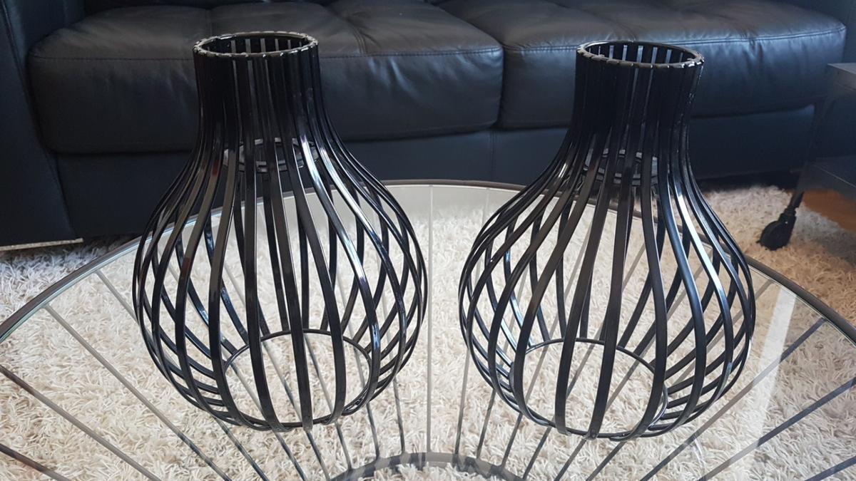 Picture of: Black Metal Wire Light Shades In Se19 Croydon For 15 00 For Sale Shpock
