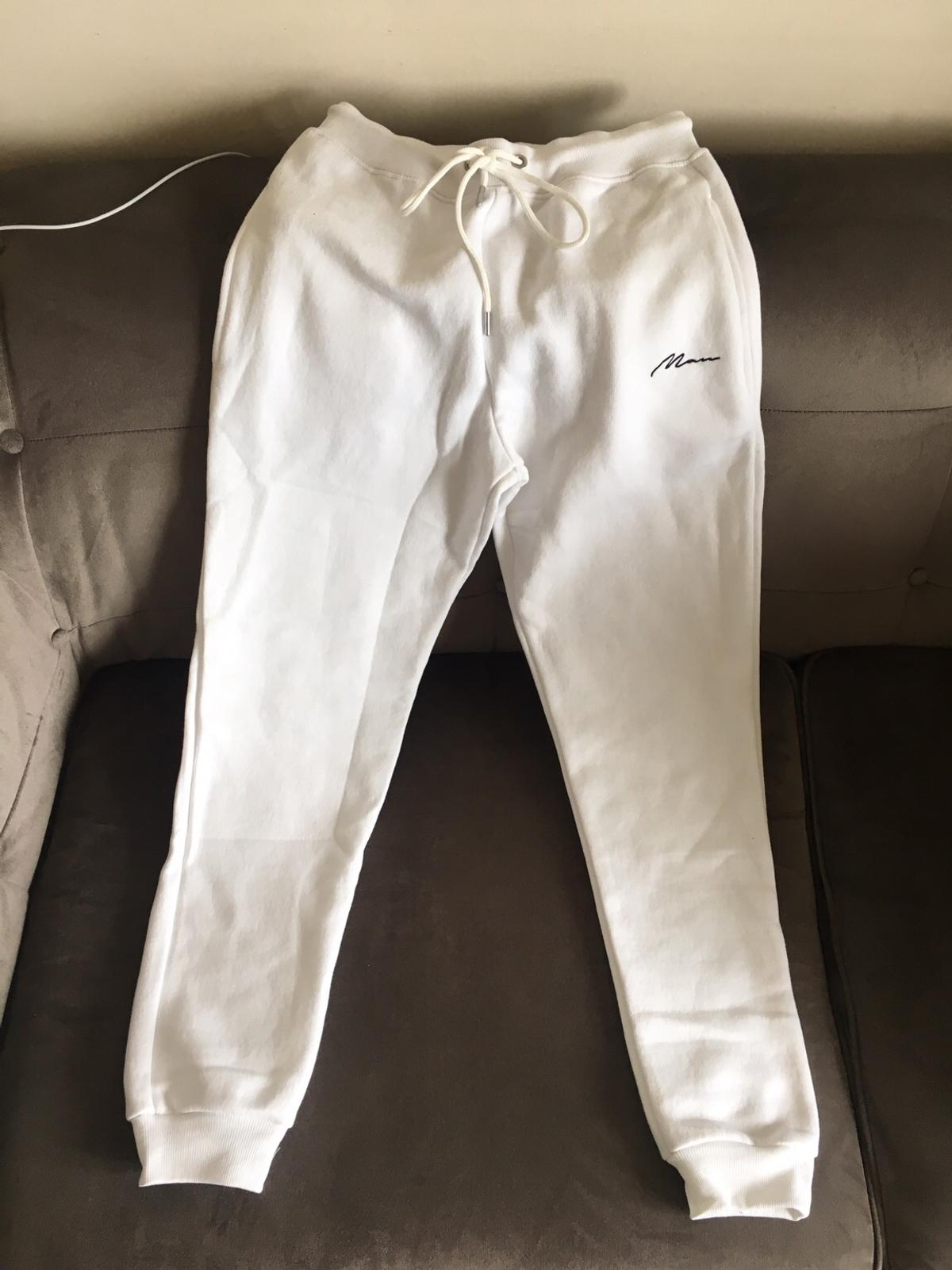 acfa6b1d BOOHOO MAN TRACKSUIT - WHITE in London Borough of Barking and ...