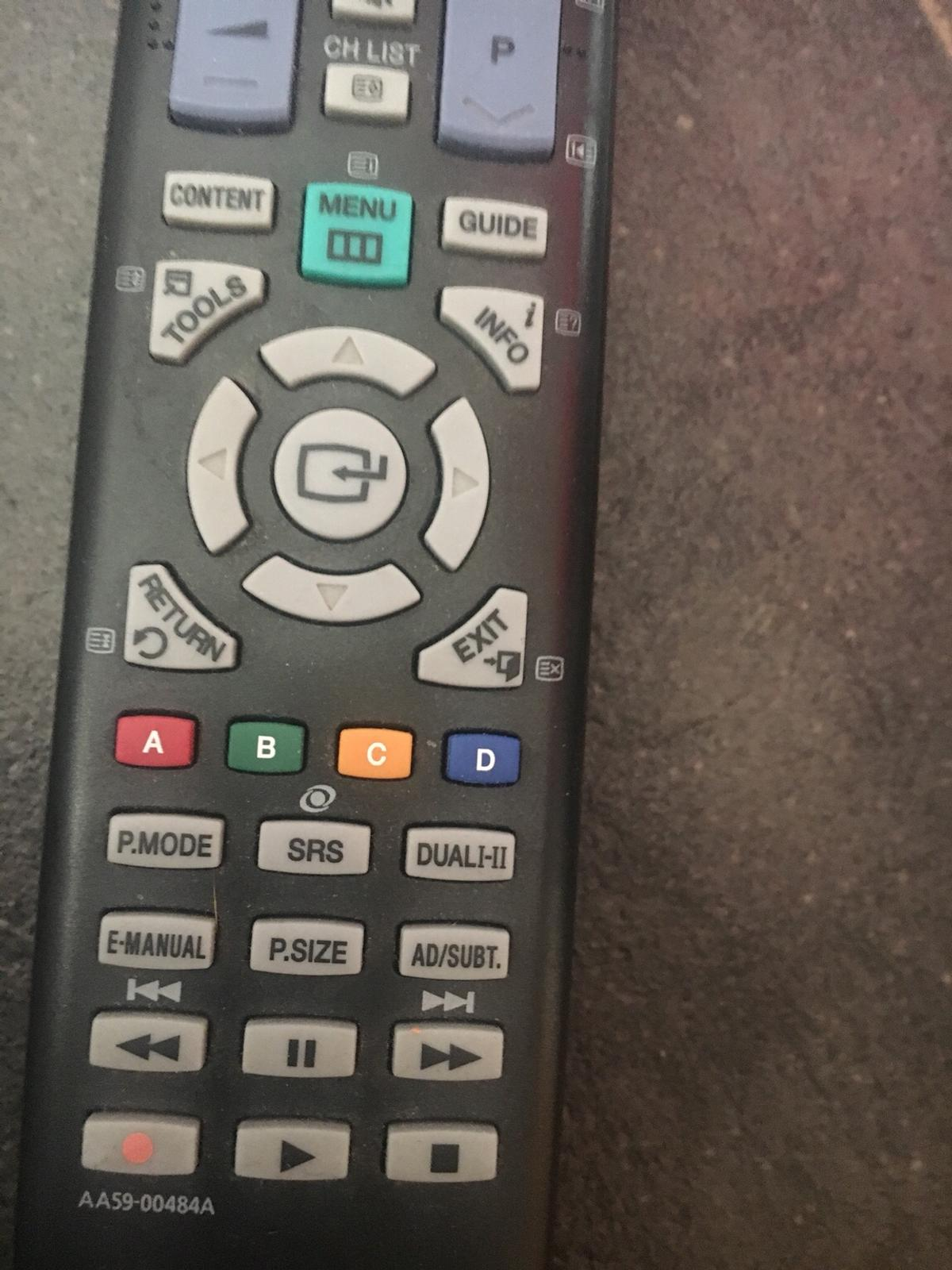 Samsung tv remote vgc