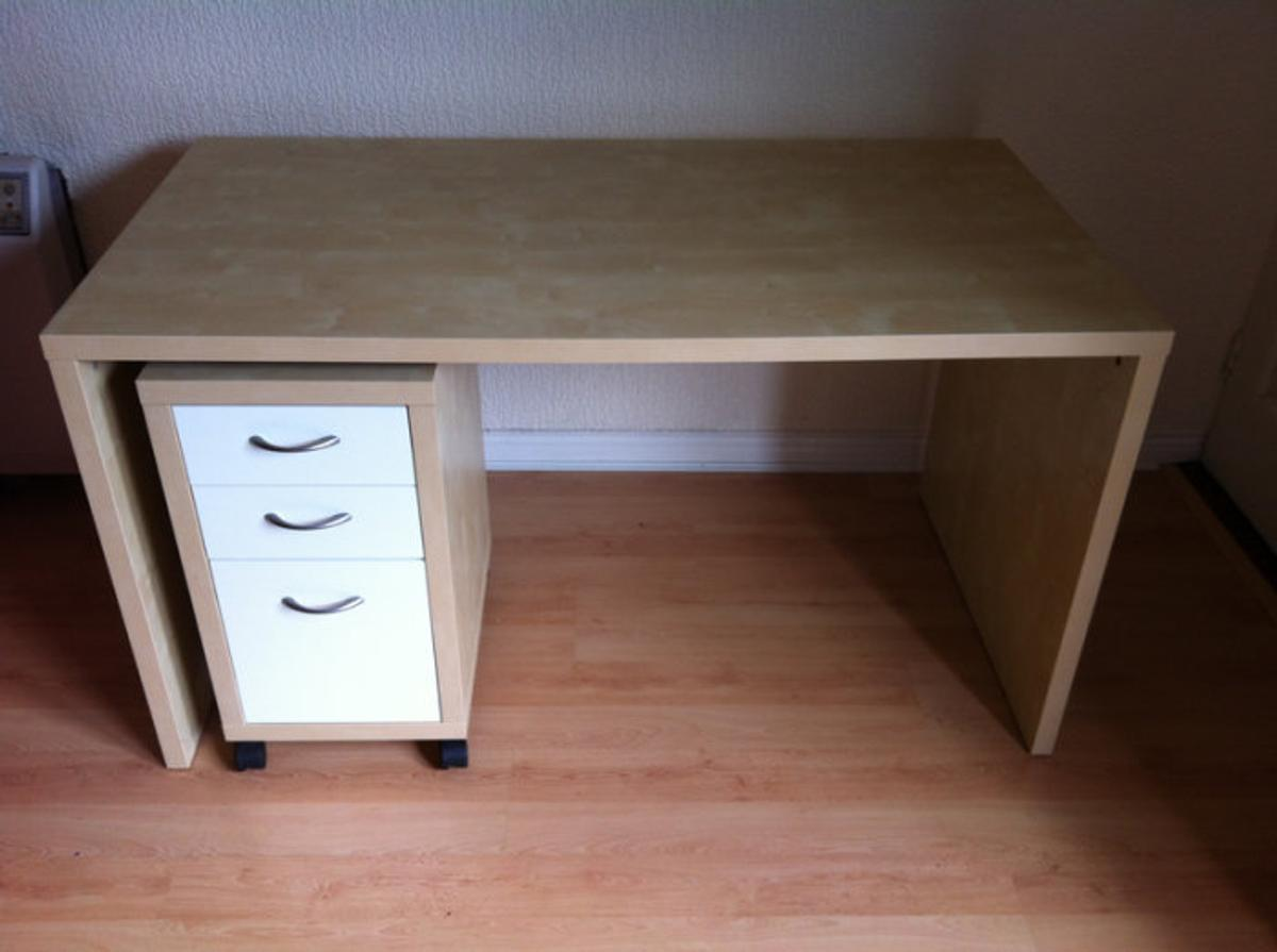 Ikea Mikael Desk With Glass Top And Pedestal In N21 London For 40 00 For Sale Shpock