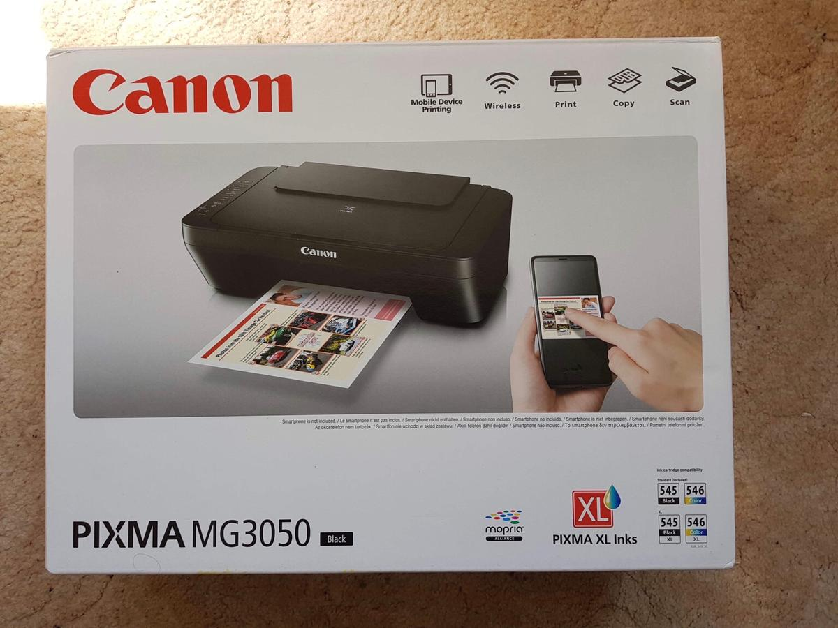 New Canon PIXMA MG3050 printer (with gifts) in PO5