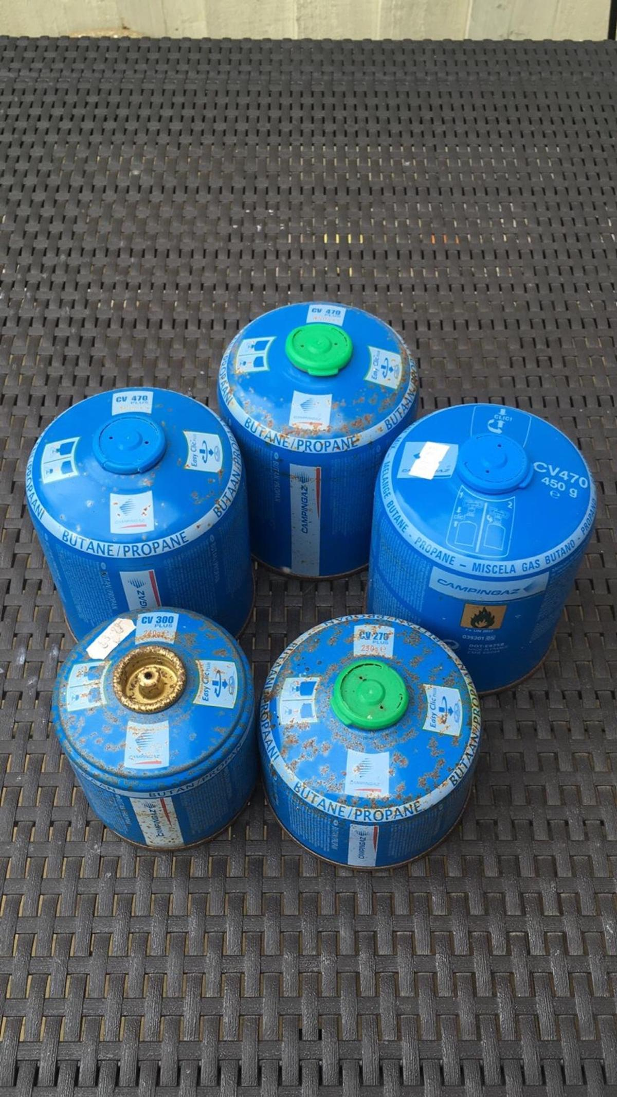 Campingaz gas canisters
