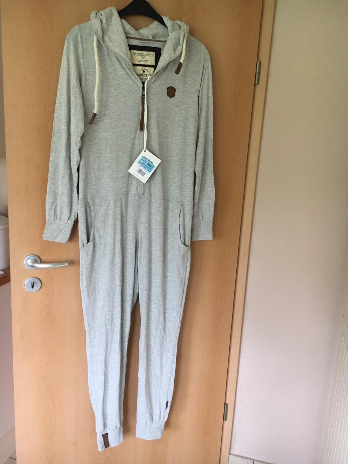 Naketano Overall Jumpsuit Gr. L Grau neu in 24598 Boostedt