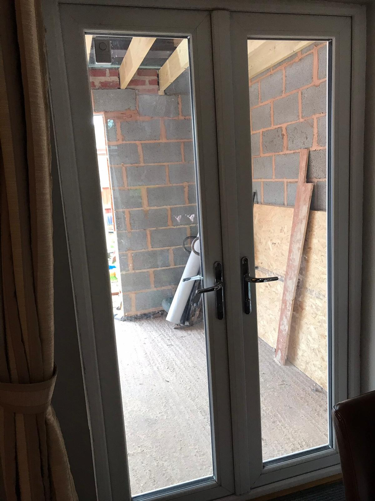 watch a6d39 a392f UPVC Patio Doors in excellent condition