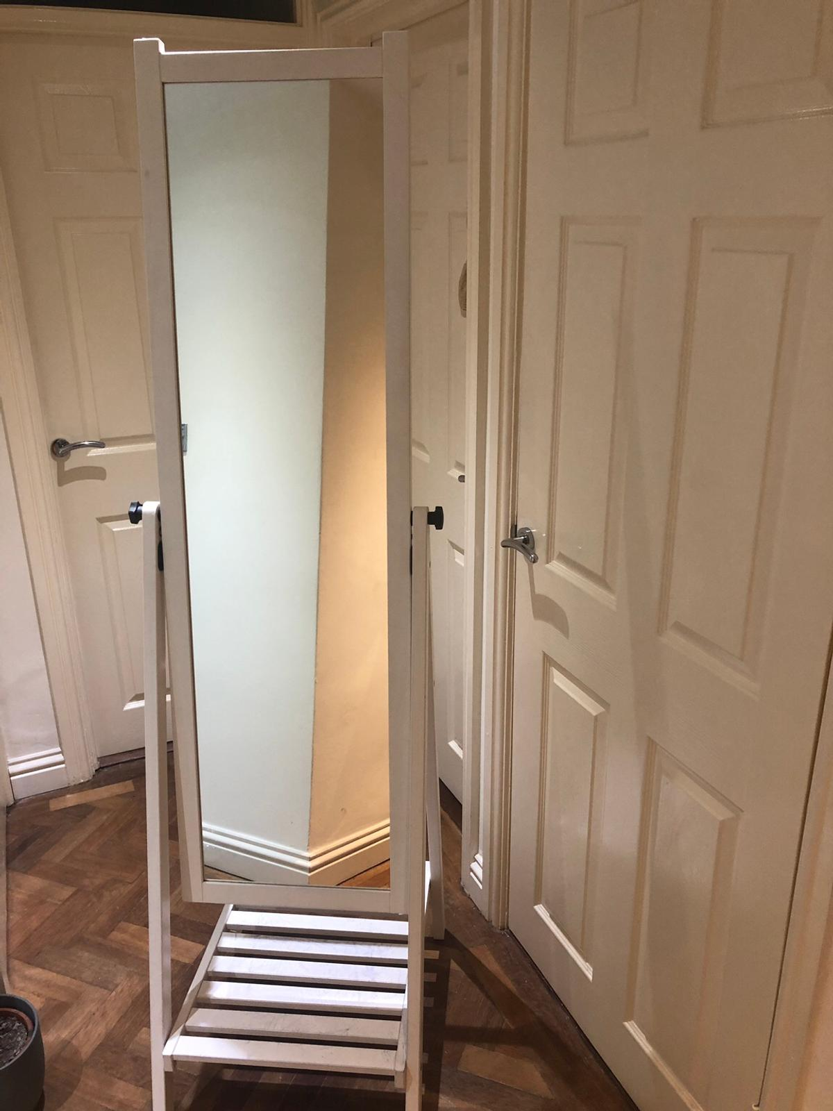 Ikea Isfjorden Standing Mirror In White In Se26 Lewisham For 10 00 For Sale Shpock