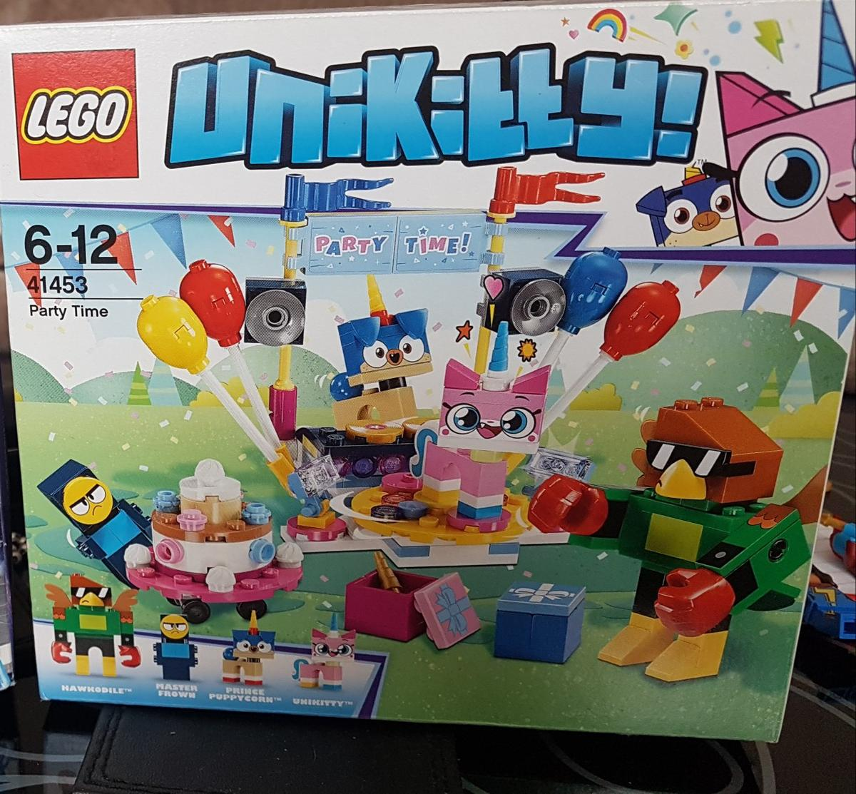 Brand New Complete Unopened Box Lego 41453 Unikitty Party Time