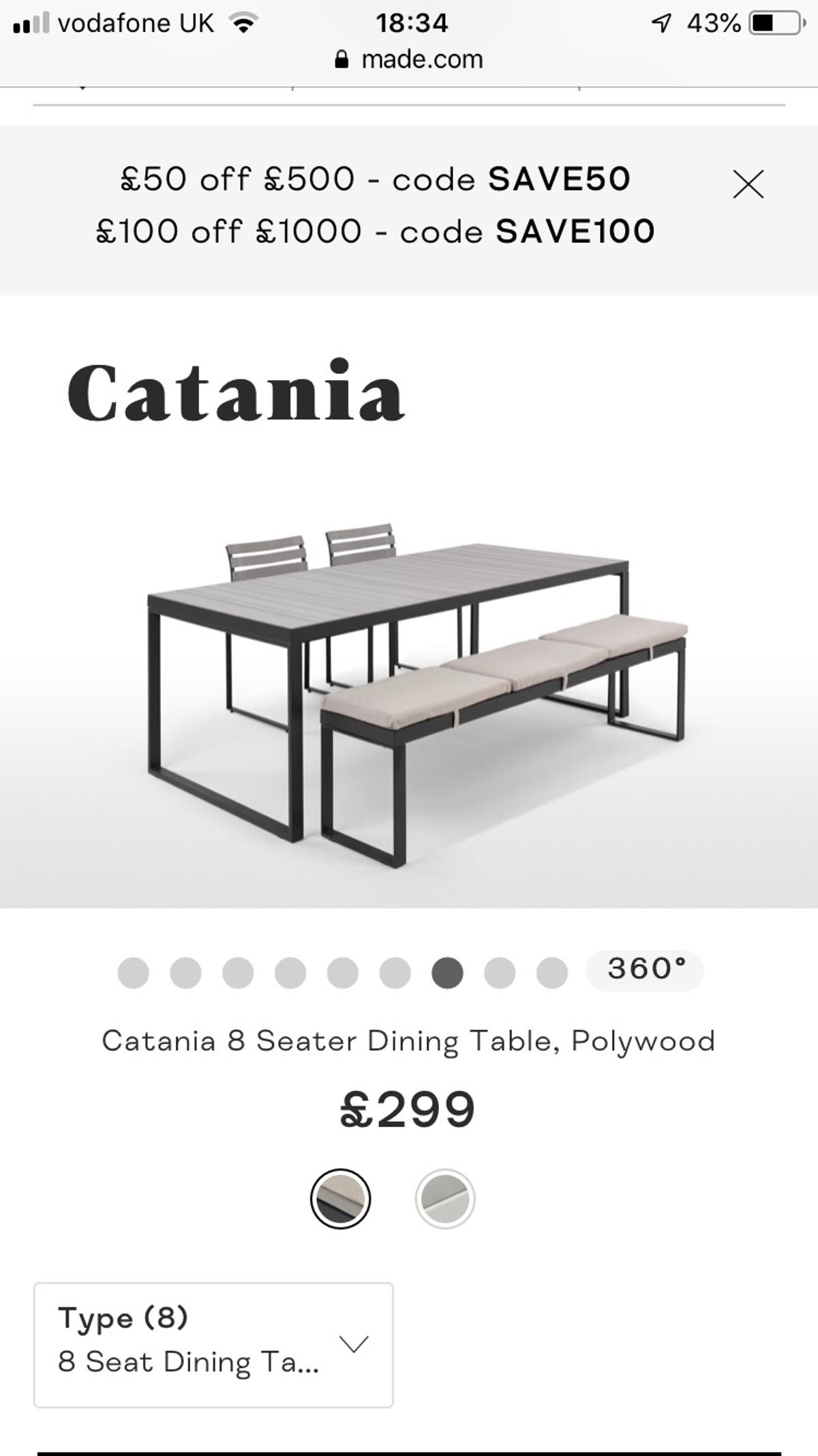 Tables With 2 Benches With Cushions Made Com In London Fur 350 00 Zum Verkauf Shpock At
