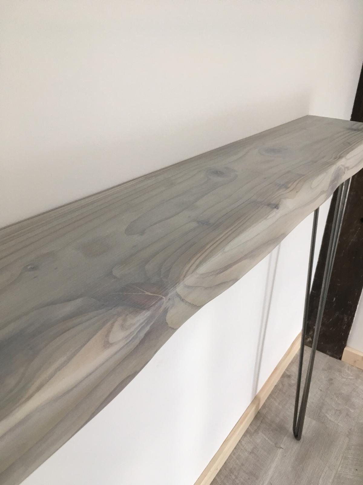 Console Table Hallway Table Rustic Hairpin In B90