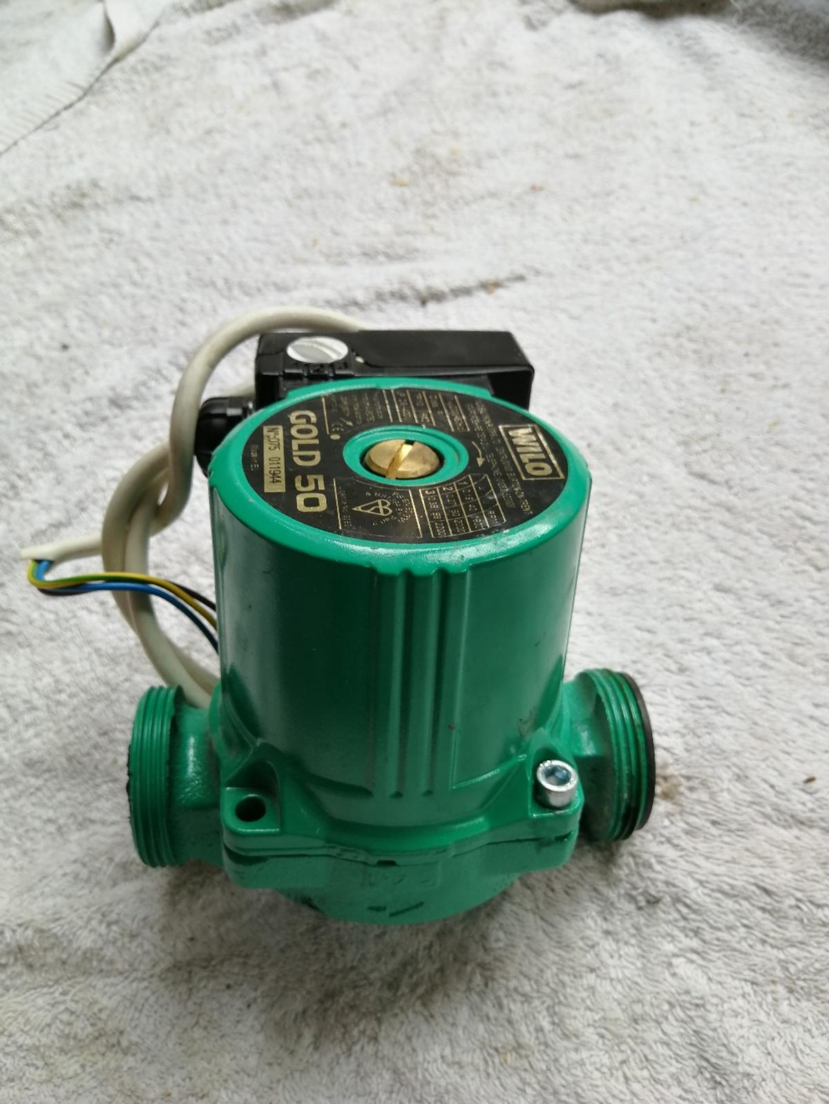 Wilo Gold 50 Central Heating Pump In Wigan For  U00a340 00 For Sale