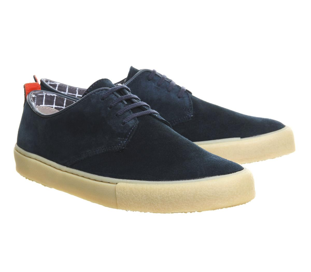 Clarks Originals Desert Vulclo Navy Suede in B46