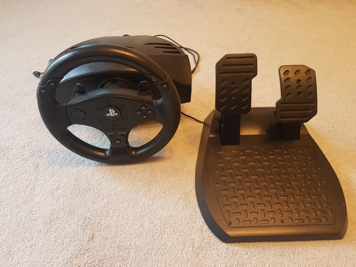 8d256f4e6dd ps4 steering wheel and pedals in Basildon for £40.00 for sale - Shpock
