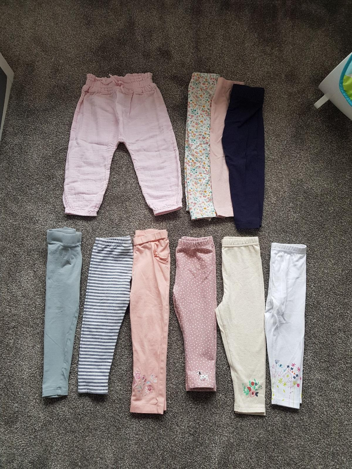 Girls Leggings Lounge Trousers Aged 12 18ms In B31 Birmingham For 5 00 For Sale Shpock