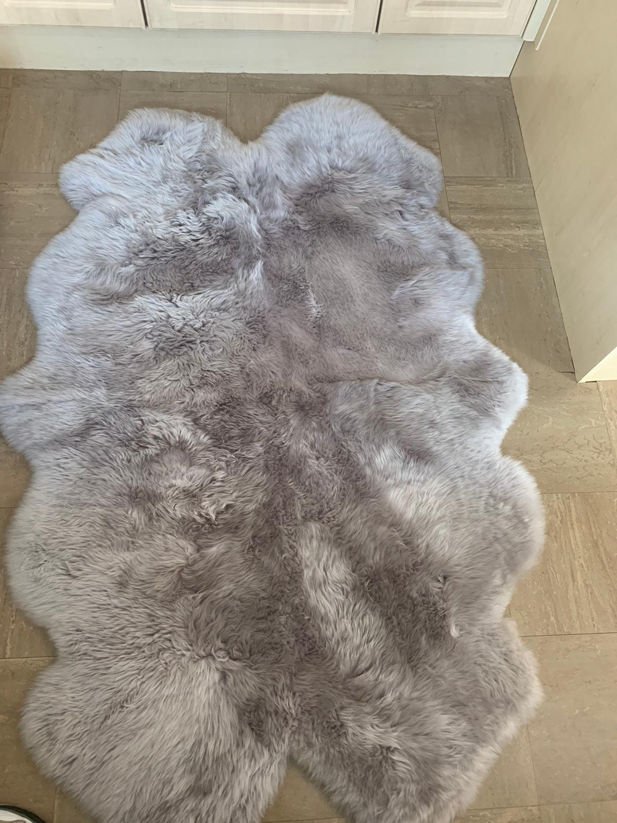 Real Sheepskin Rug 170x110 In Bn22