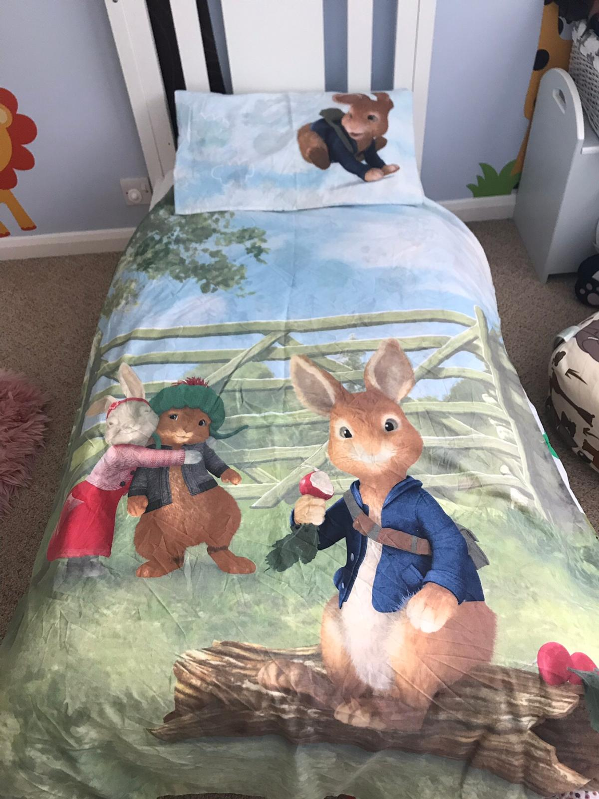 new styles a1938 9f0dc Next Peter Rabbit Bedding in toddler bed size
