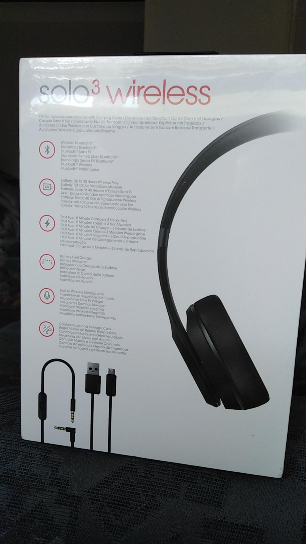 Beats Solo3 Wireless Matte Black In London For 22000 For Sale Shpock