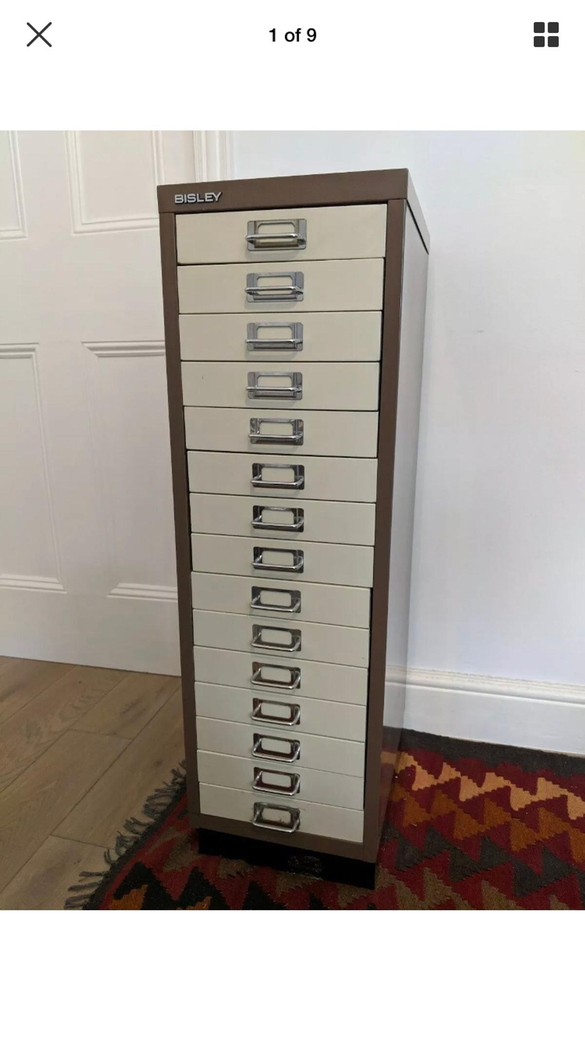 the best attitude dfe98 aab98 Bisley 15 drawer filing cabinet