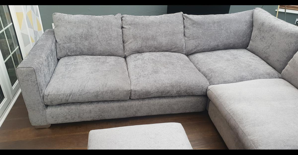 huge selection of ffce0 12a14 Sofology Majestic Corner Sofa & Footstool in LE67 ...