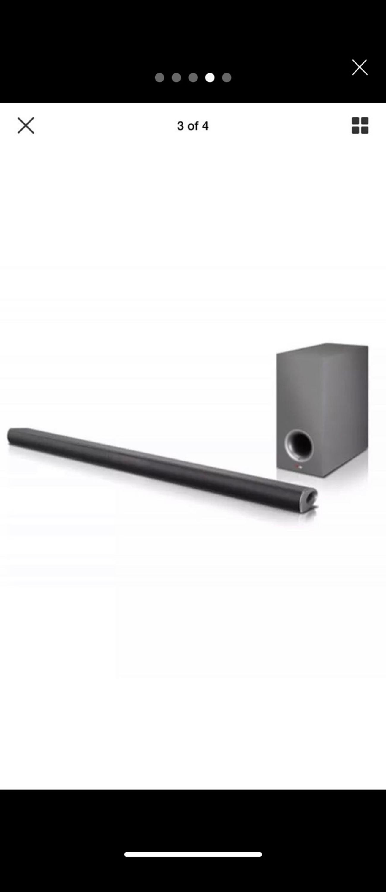 LG sound bar NB3540 with wireless subwoofer in TW4 London for £50 00