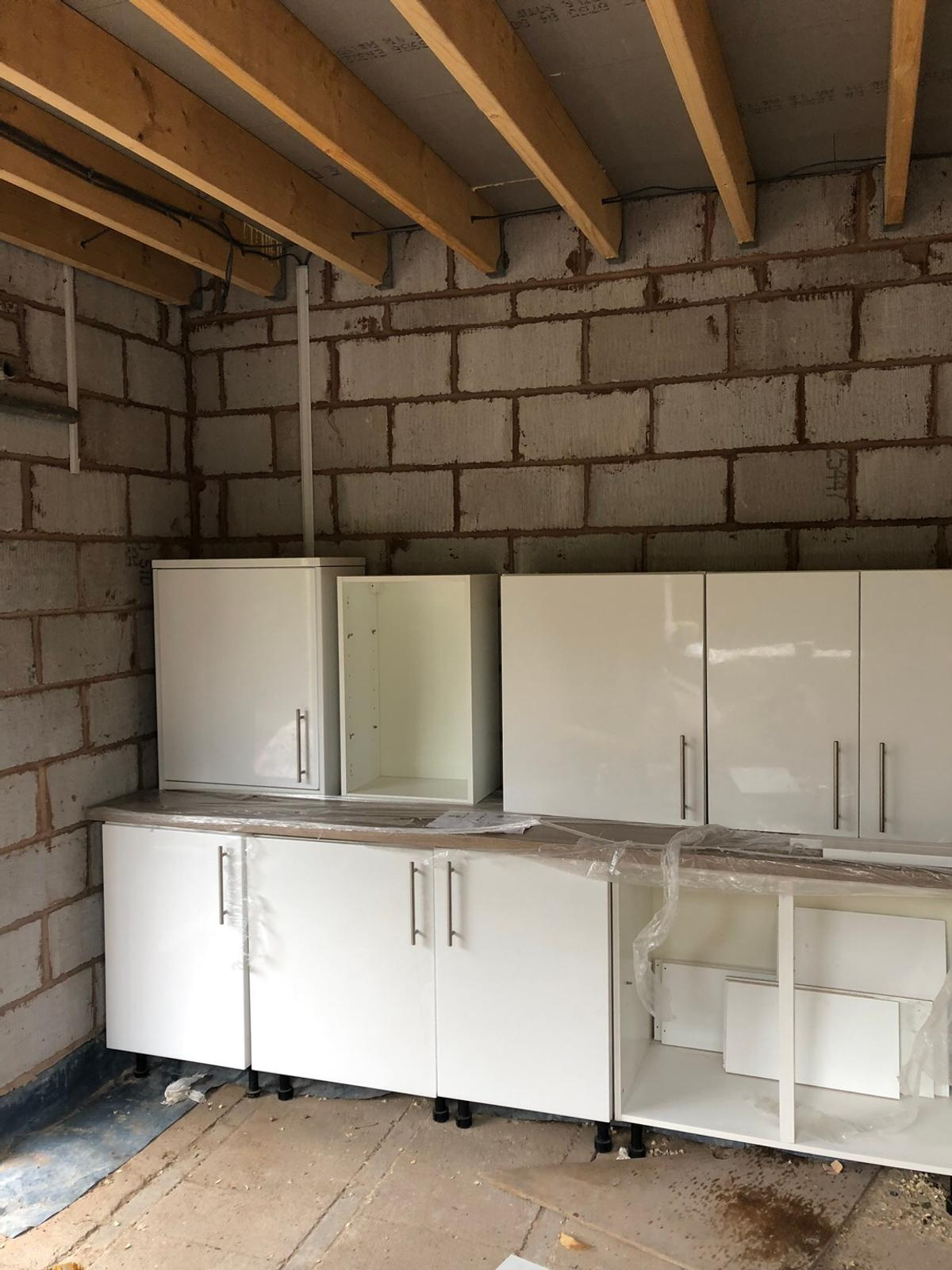 Second Hand Kitchen With New Worktop In Wr1 Worcester For 300 00 For Sale Shpock