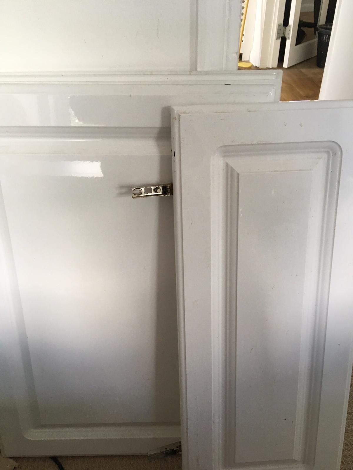 B Q Chilton White Gloss Kitchen Doors