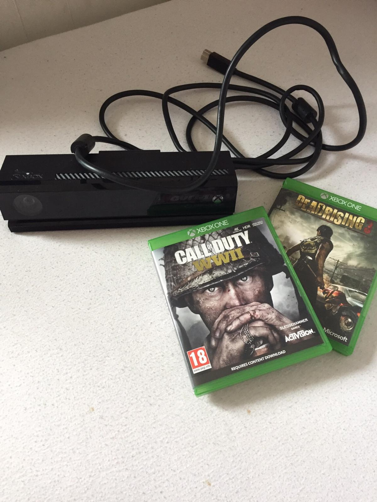 Xbox one + 32'tv+Kinect+2 games