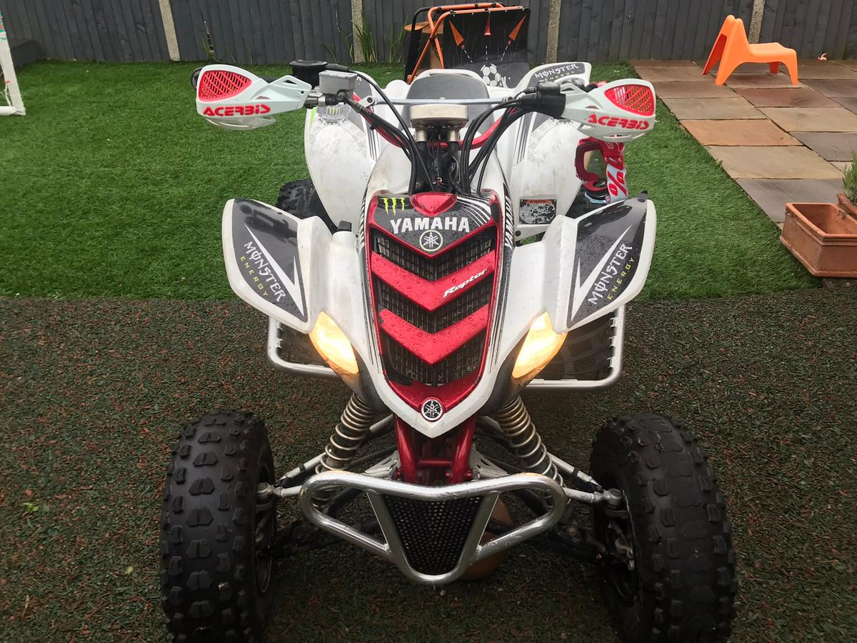 Yamaha Raptor 660cc in BB12 Burnley for £3,300 00 for sale - Shpock