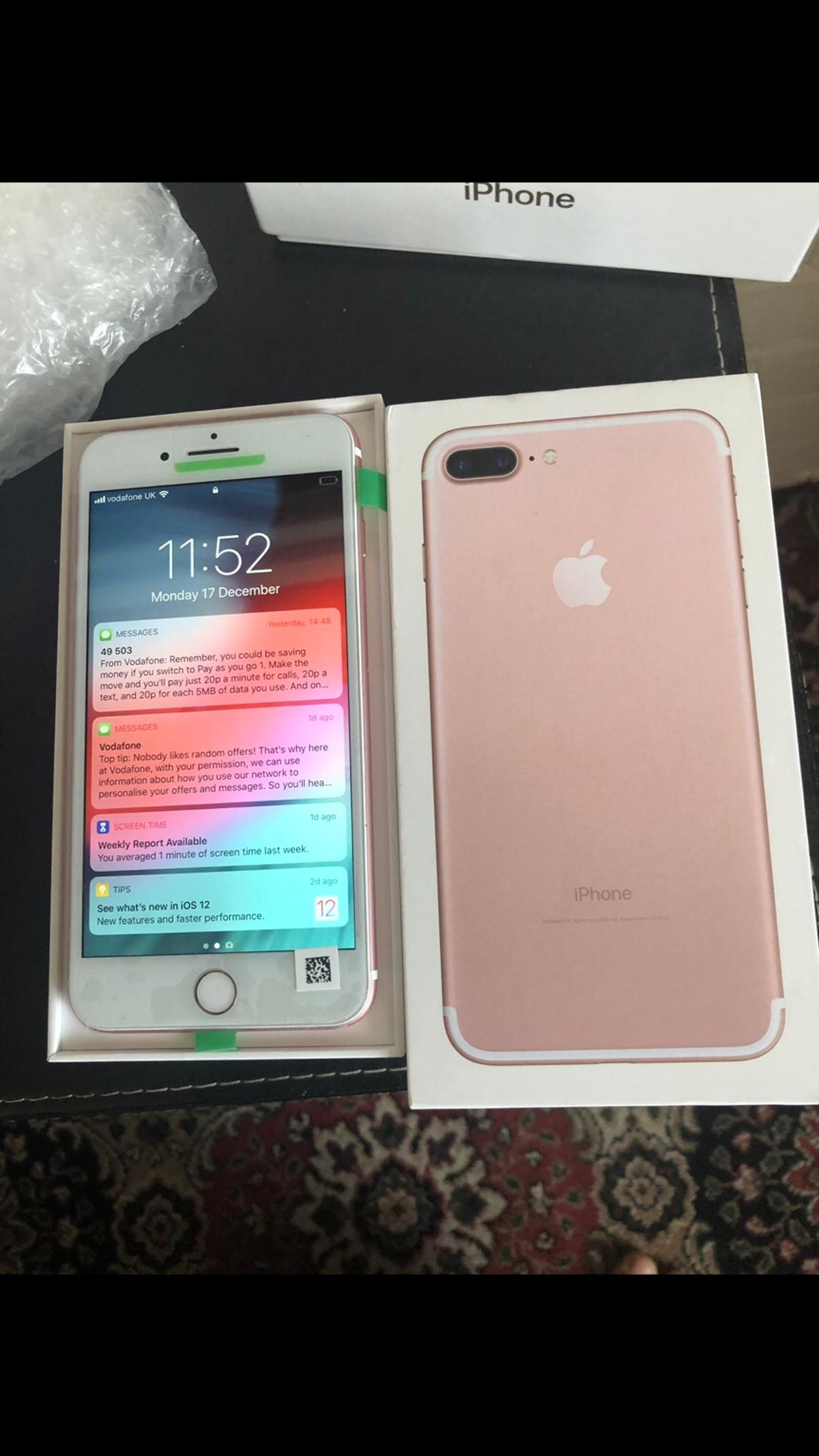 Apples Iphone 7 Plus 256gb Rose Gold Unlocked