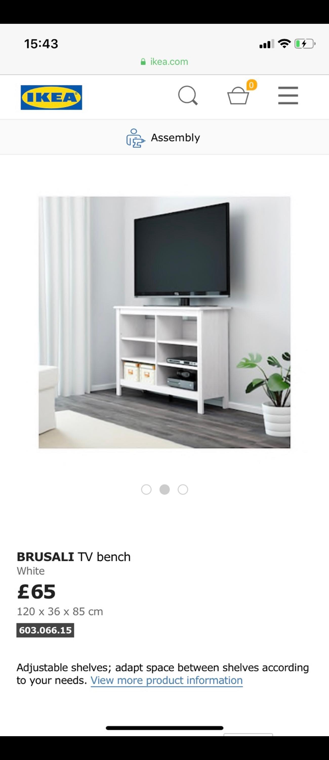 Astonishing Ikea Tv Bench Unit White Wash Grey Alphanode Cool Chair Designs And Ideas Alphanodeonline