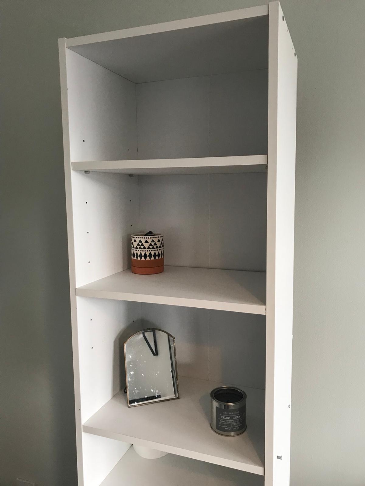 Awesome White Shelving Unit Beutiful Home Inspiration Ommitmahrainfo