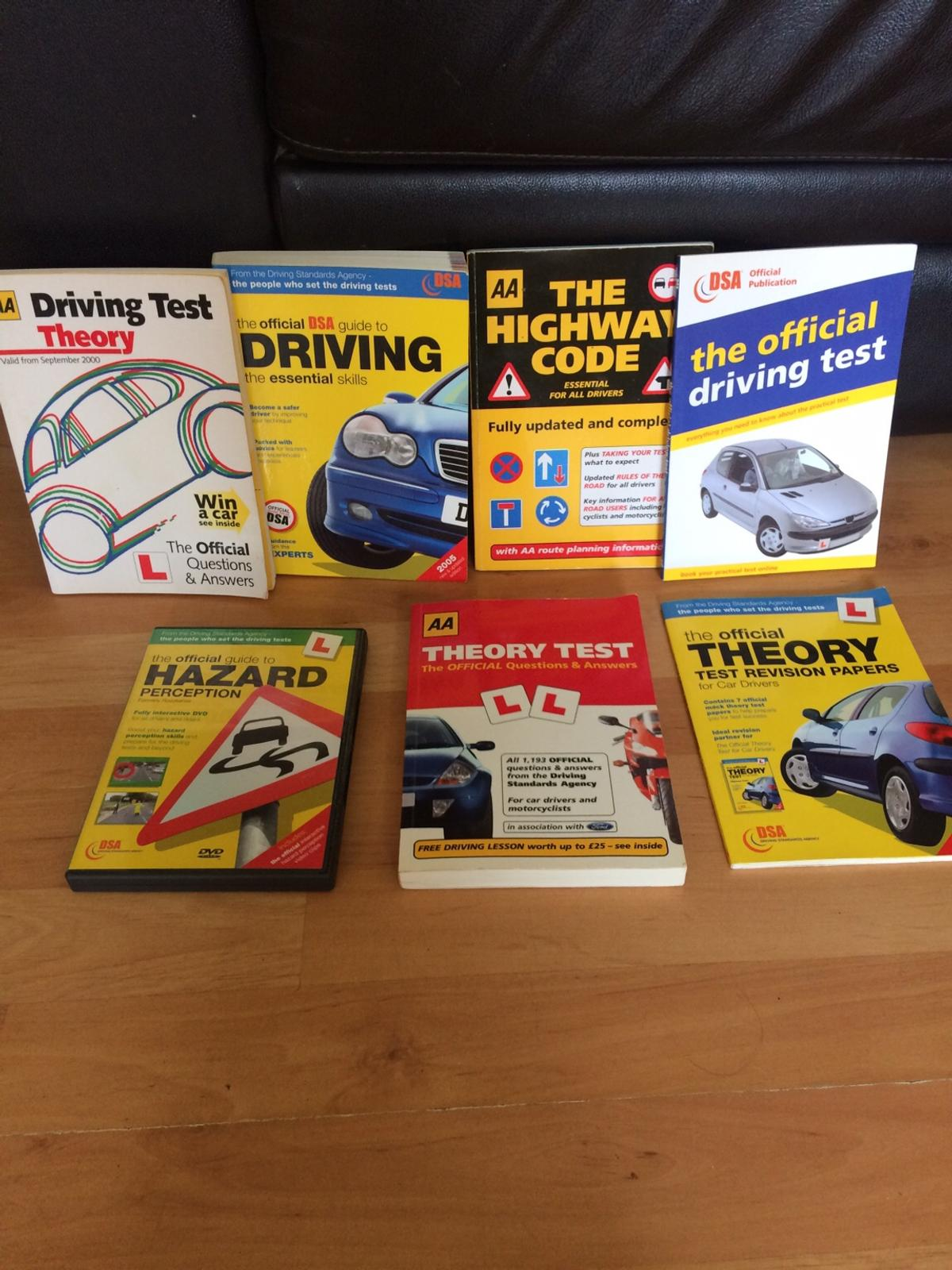 Driving test books