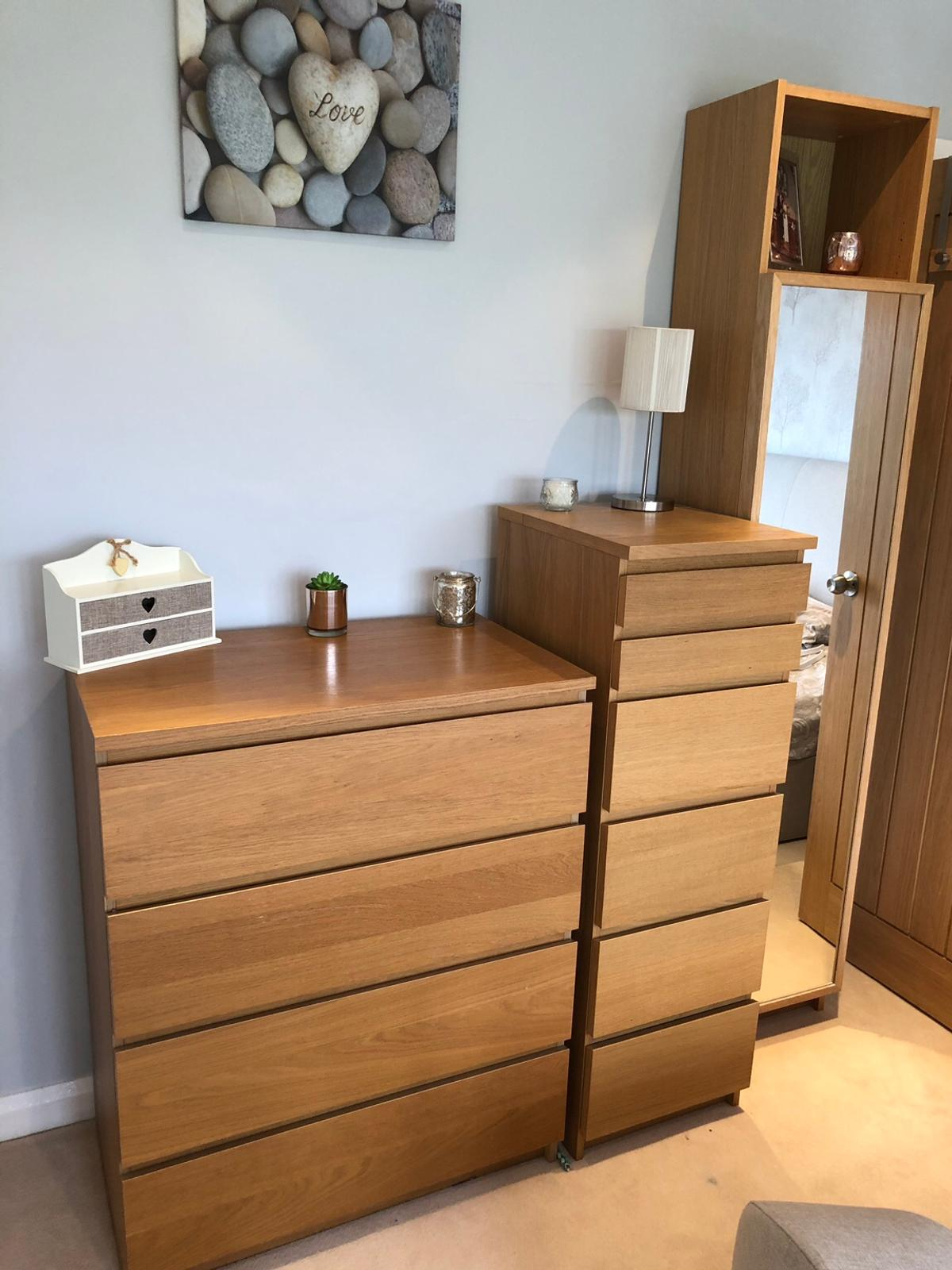 Ikea Malm Bedroom Furniture Billy Bookcase In B78 North