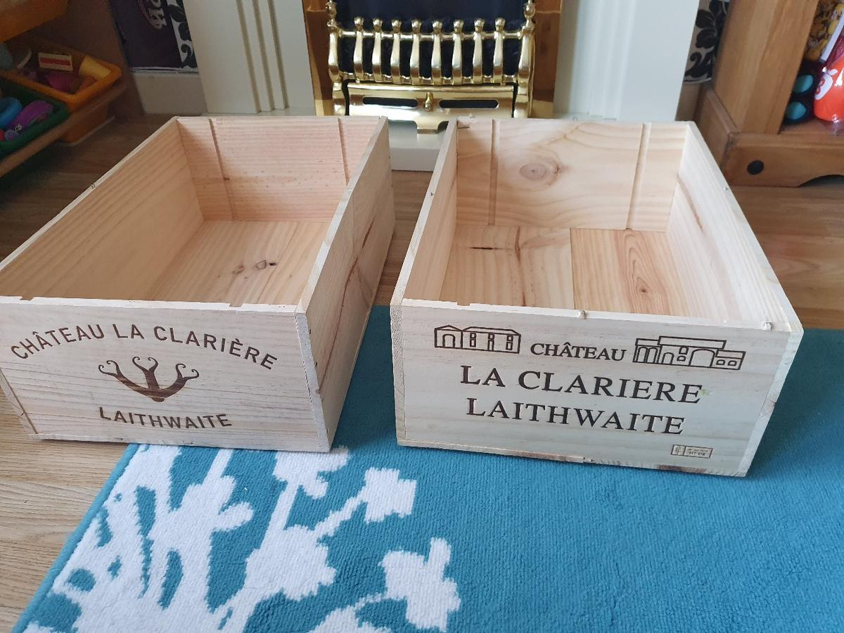 3 Open Wine Boxes In Se16 Lewisham For 2000 For Sale Shpock