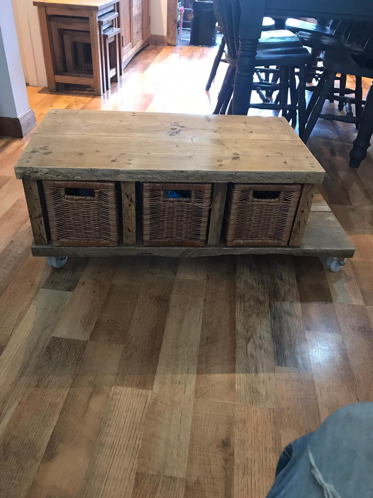Unusual Rustic Coffee Table In Se12 Royal Borough Of Greenwich For