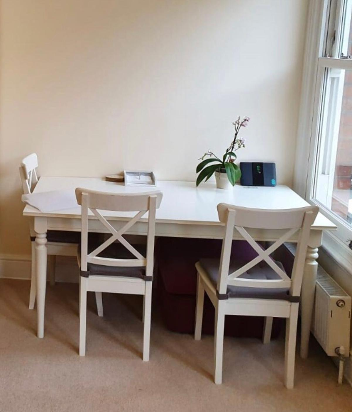 Ingatorp Dining Table And Chairs