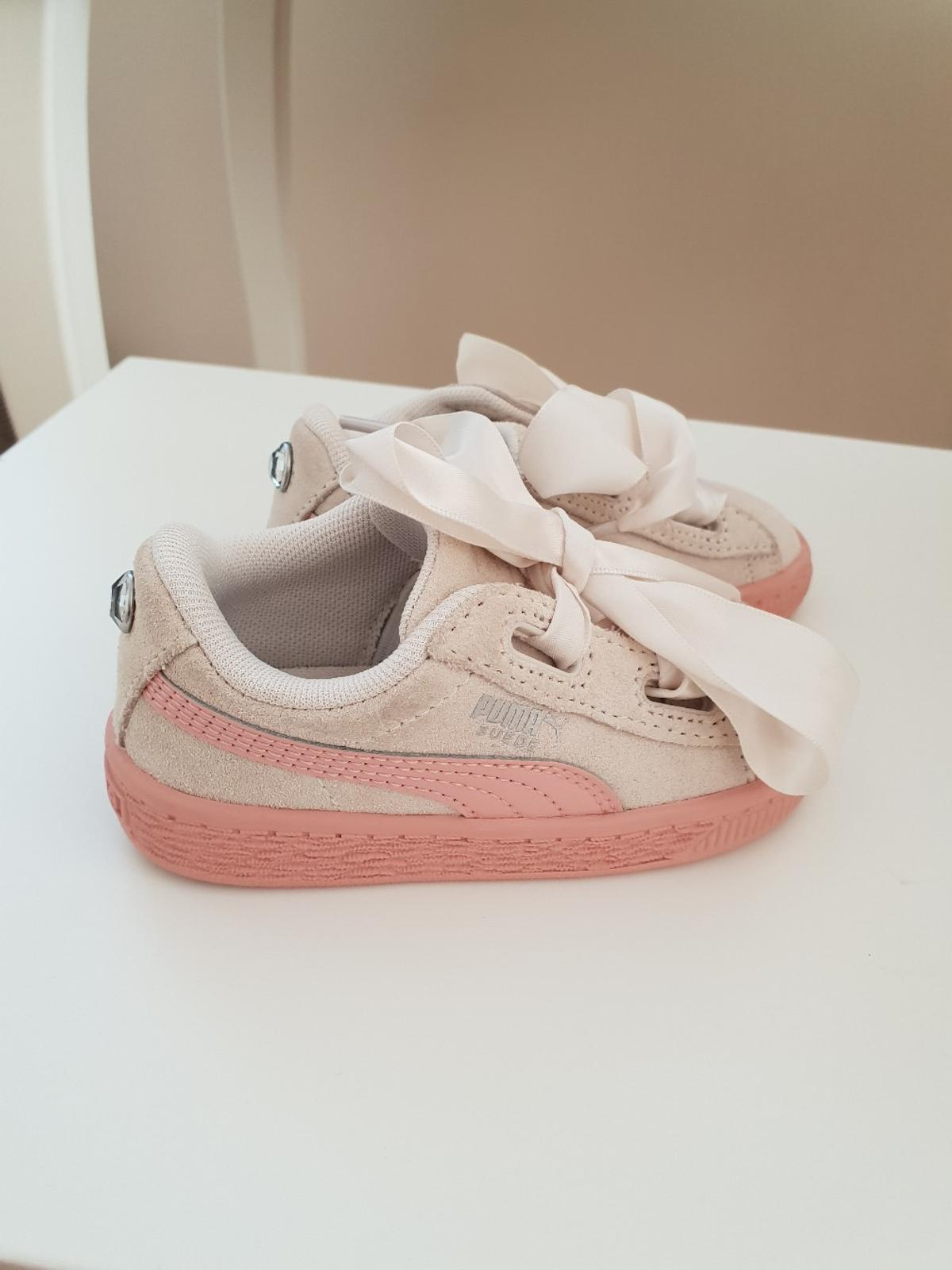 official photos a6ac6 d25bb Toddler Girls Puma Trainers Infant Size 5