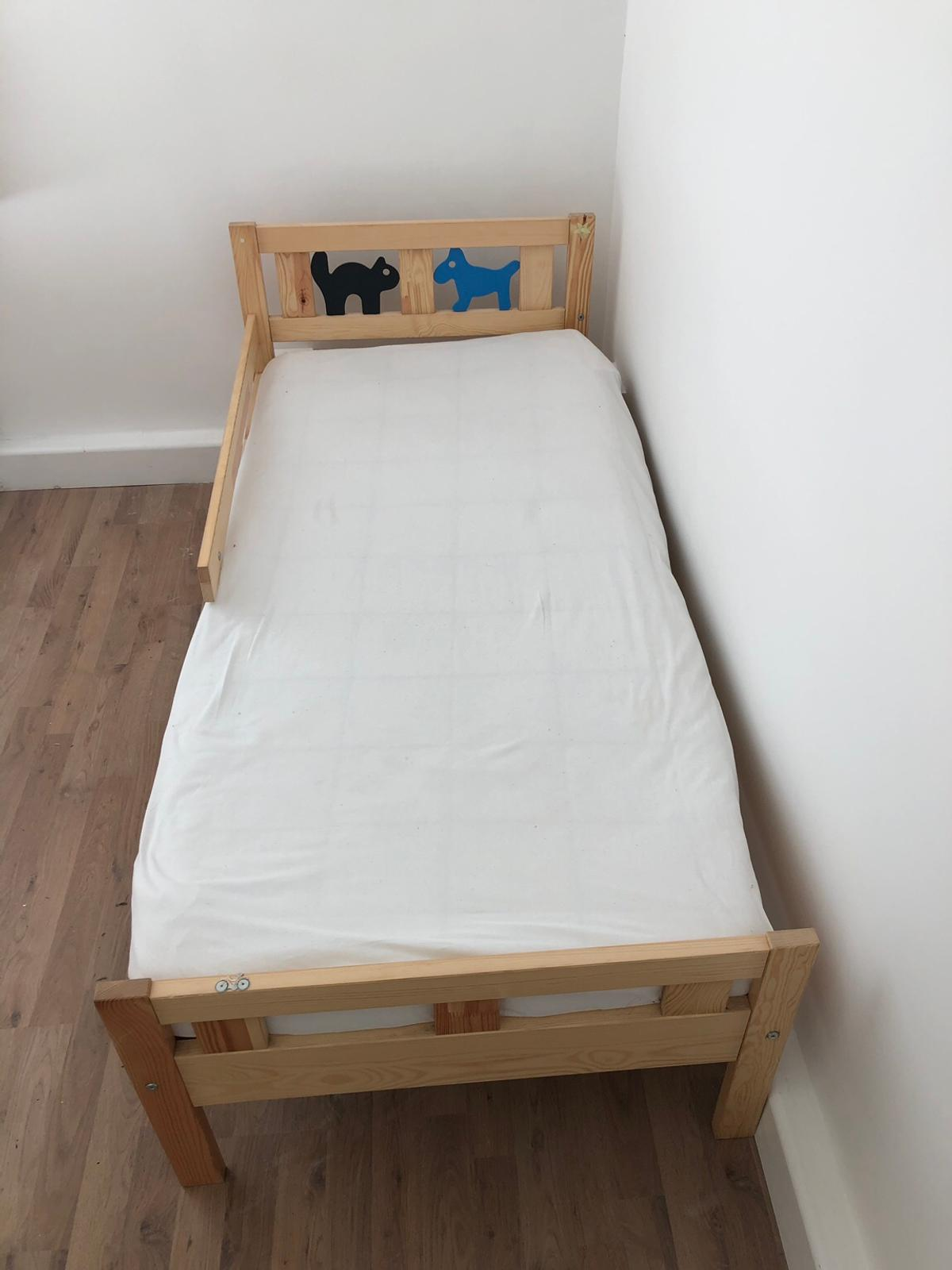 new product 05a9d ad71c IKEA Kritter Toddler Bed Frame and Mattress