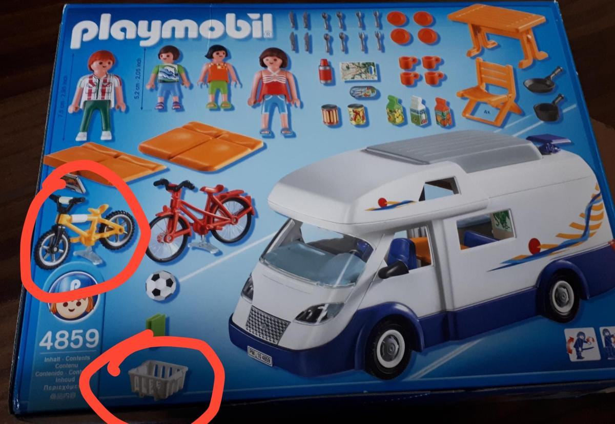 Playmobil 9 - Familien-Wohnmobil