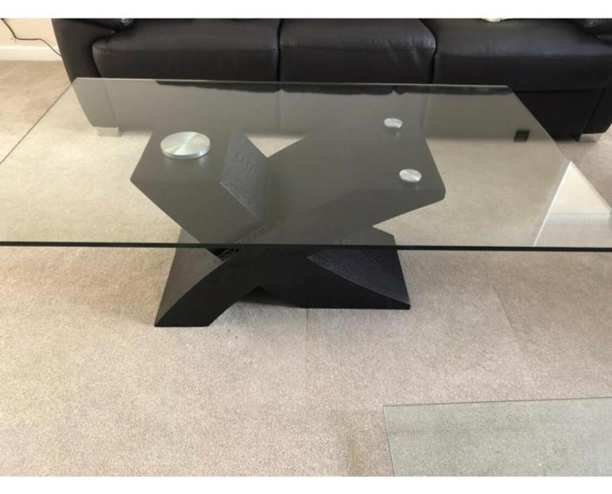 - Black And Glass Coffee Table From Wayfair In B92 Solihull Für 75