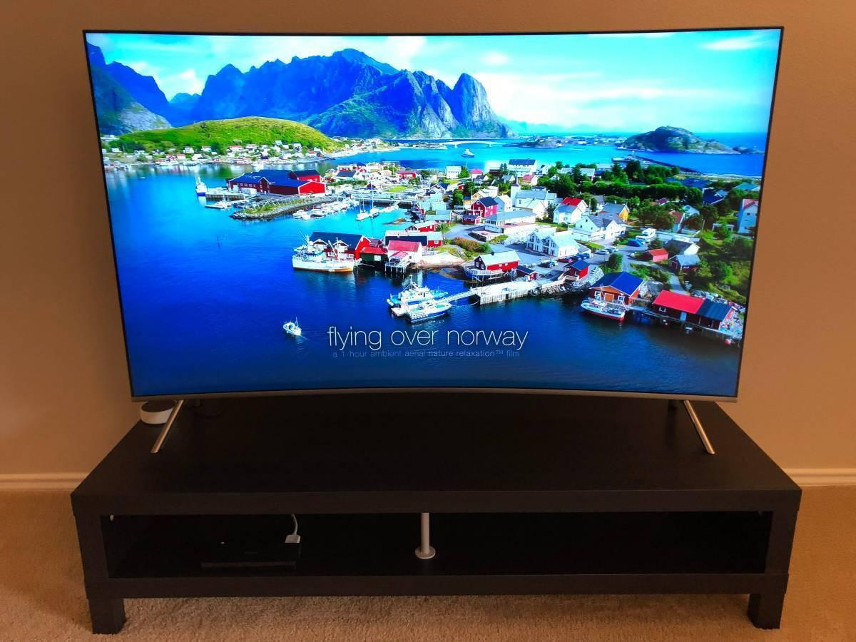 Samsung 65-Inch Curved 4K