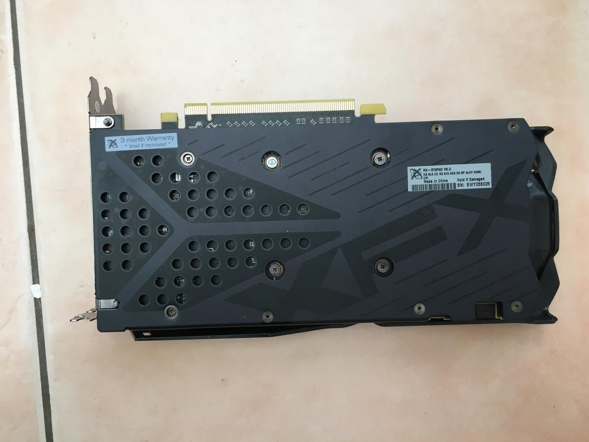 XFX RX 570 4GB - Used in CB7 Soham for £65 00 for sale - Shpock
