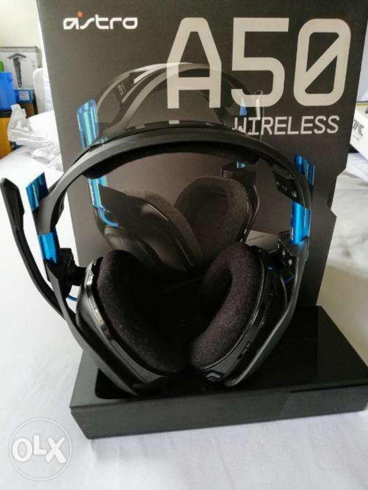 ASTRO A50 WIRELESS GAMING HEADSET PS4/XBOX/PC