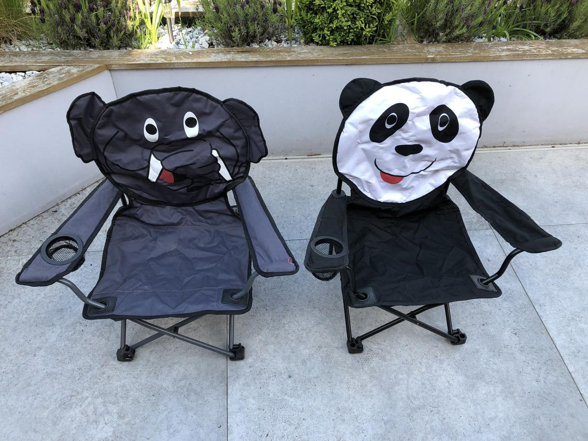 Stupendous Kids Animal Folding Camping Chairs In B17 Birmingham For Theyellowbook Wood Chair Design Ideas Theyellowbookinfo