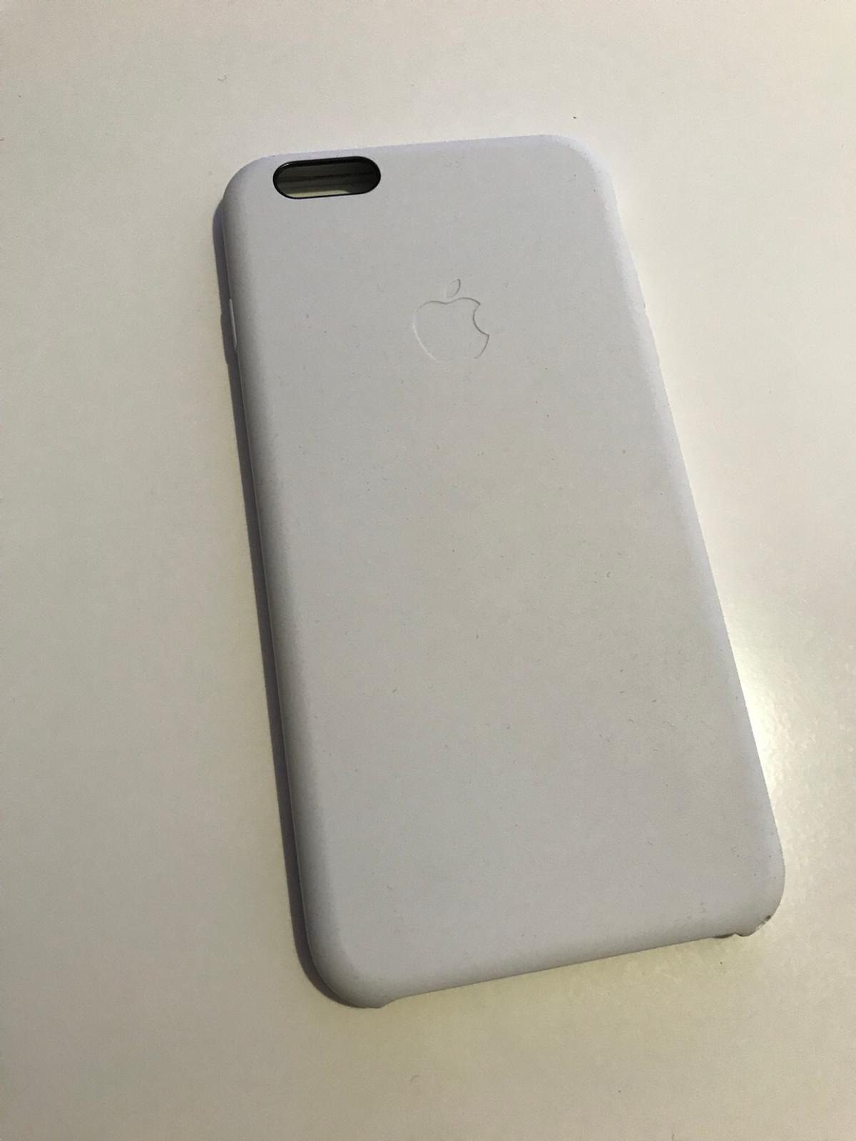 apple mkxk2zm/a iphone 6 plus/6s plus silikon hülle weiß/schwarz