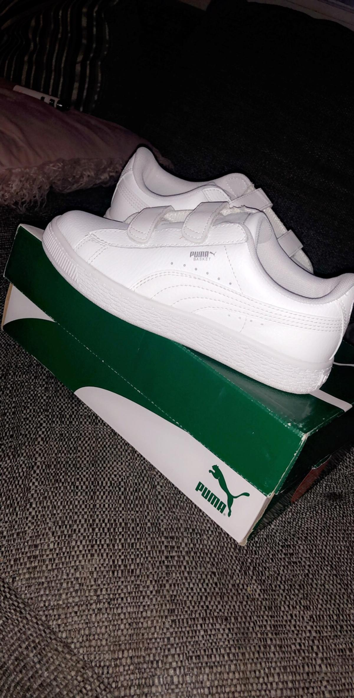 reputable site 34254 594a9 Puma basket size 2 with box never been on